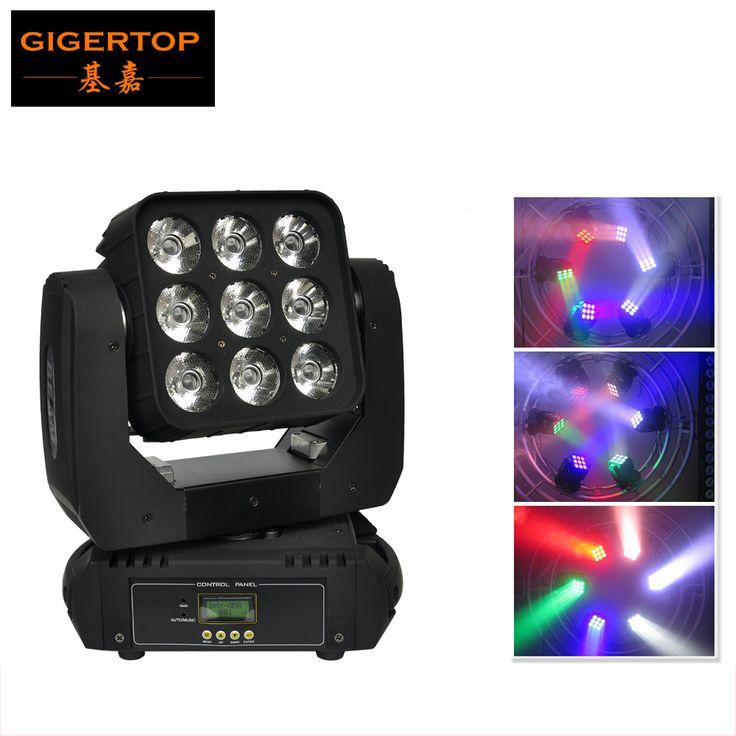 Sample CREE Led Moving Head Matrix Light Beam Led Disco Light Led DMX 512 9x10W Beam Light AV110V-240V CE ROHS certification #Affiliate
