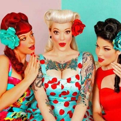 Rock N Roll Girl Hairstyles : 131 best rocknroll images on pinterest