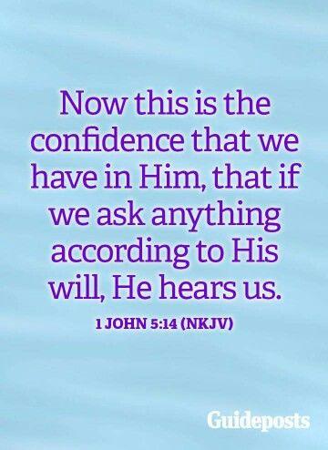 1 John 5:14 #Bible #God