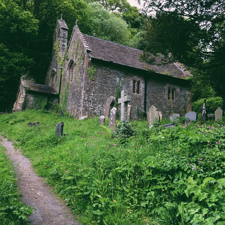 bextyers:  Abandoned Church.  Llandeilo, Wales.
