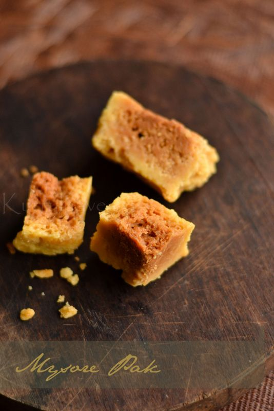 Mysore Pak | Step by Step Recipe | Indian Sweets Recipes | kurryleaves
