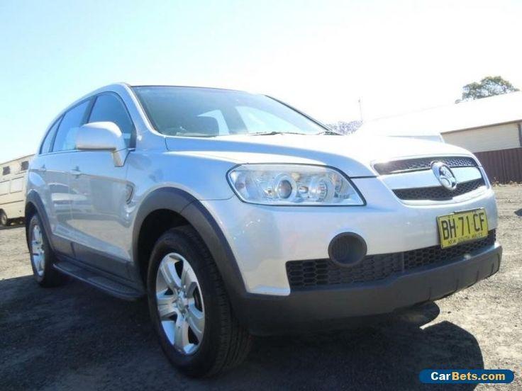 2010 Holden Captiva CG SX Wagon 7st 4dr Spts Auto 5sp 4x4 2.0DT Silver A Wagon #holden #captiva #forsale #australia