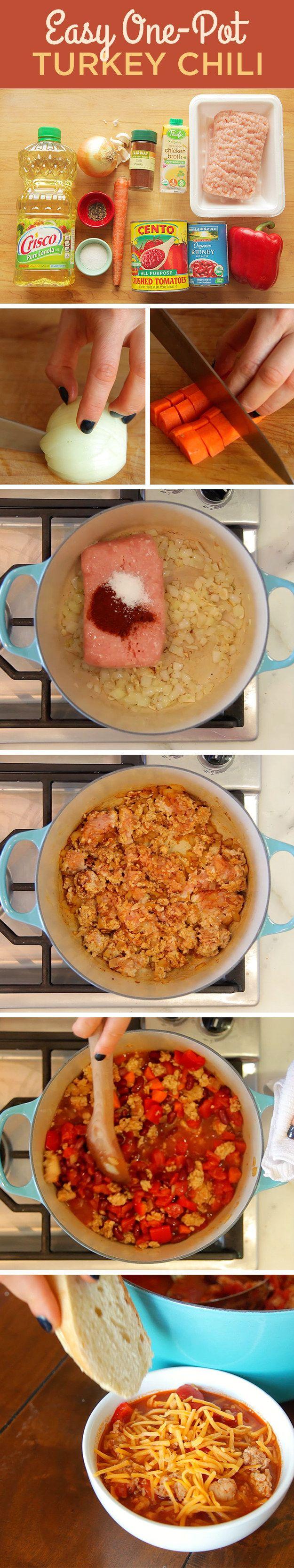 Classic One-Pot Turkey Chili