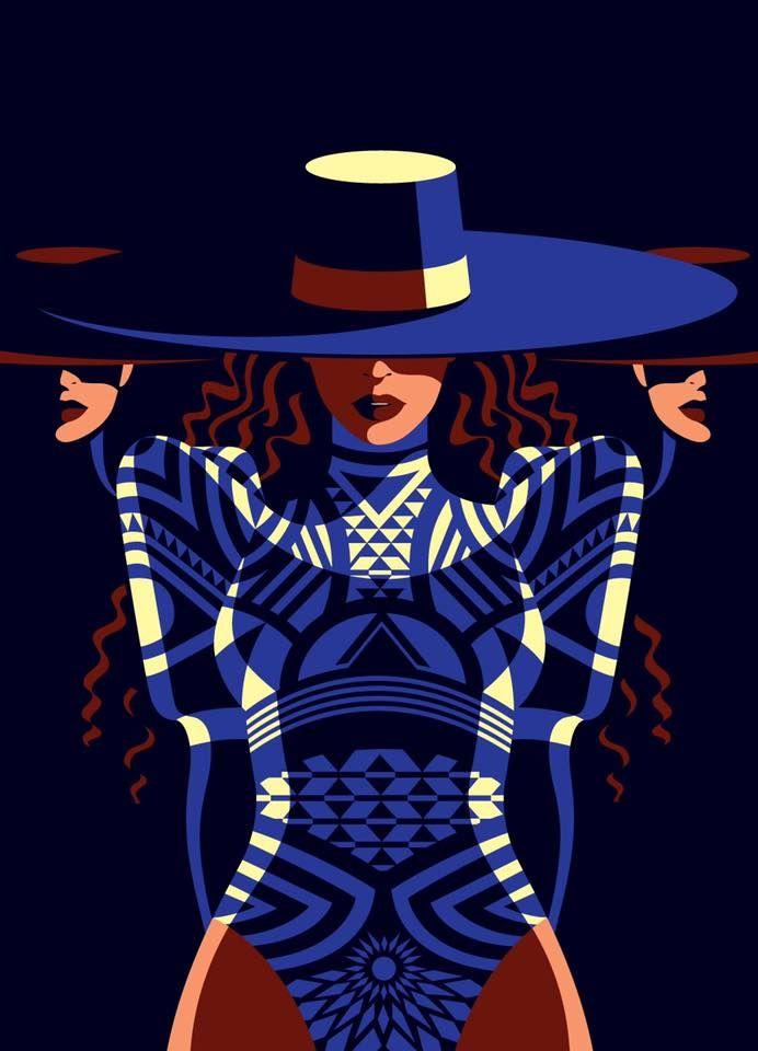 Malika Favre - Beyoncé for New Yorker mag