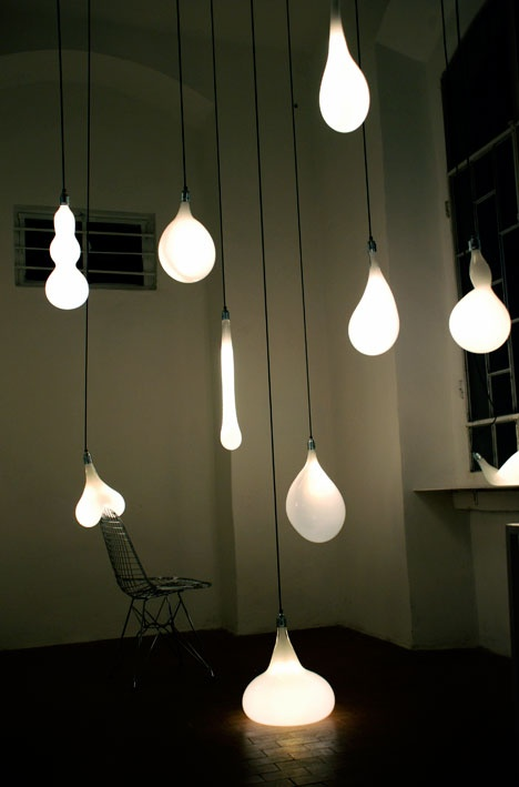 Unika lamper med design virus - Rumid  THE BULB