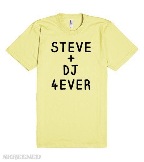Steve and DJ Forever Shirt - Full House, Fuller House   Celebrate one of the best TV couples of the 90's! The perfect shirt for bing-watching Fuller House! Steve & DJ's love from Full House will NEVER die! #Skreened