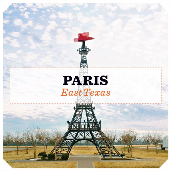 On the way to Broken Bow OK - Paris, Texas , stop by the eiffel tower and grab a treat at the Paris Bakery.