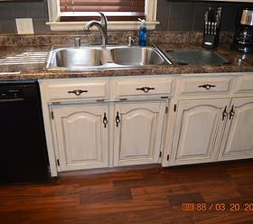 concrete kitchen cabinets tea stained kitchen cabinets home stained 13787
