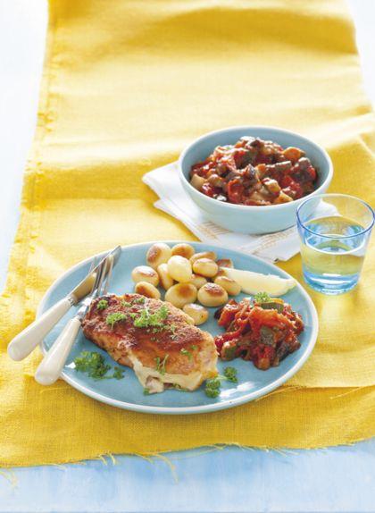 Recept voor cordon bleu op z'n Frans