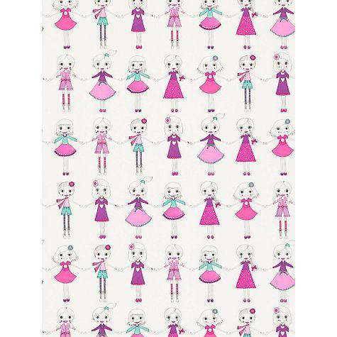 Buy Harlequin Best Of Friends Wallpaper Online at johnlewis.com