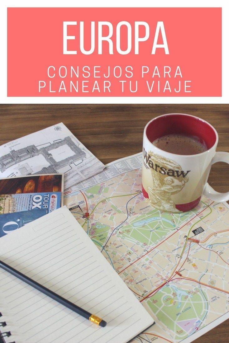 Datos y consejos para viajar a Europa - Postcards From IvI