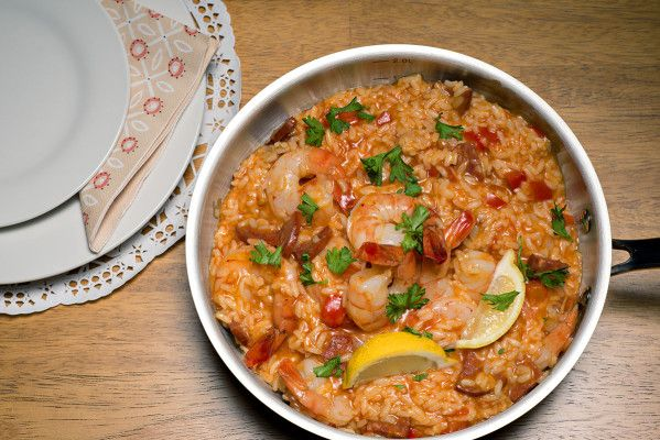 This week, we have tested for you a shrimp paella recipe. More expensive than the meatball recipe from last week, but...