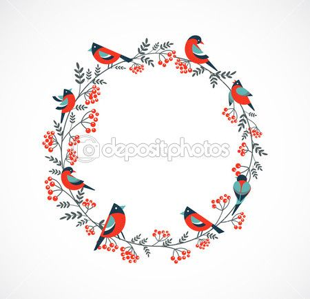 depositphotos_13490447-Christmas-wreath-with-birds-and.jpg (450×434)