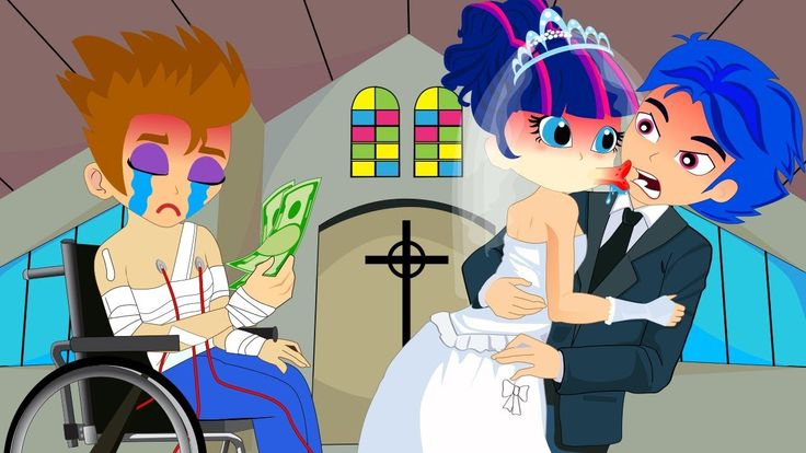 cool - Cartoon Flash and Twilight Married To Earn Money To Pay The Hospital Fees! Finger Family Song Nurser