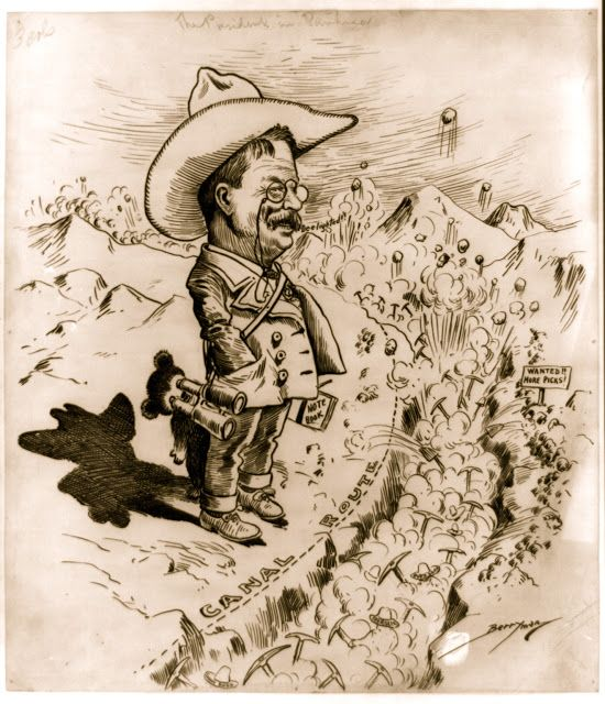 theodore roosevelt panama canal essay Teddy roosevelt had bet his campaign on building a canal through panama upon rejection of the treaty by the colombian senate, he had to resort to plan b.