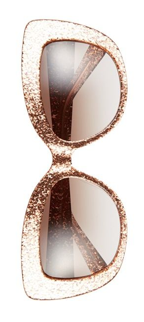 rose glitter cat eye sunglasses  http://rstyle.me/n/nmw6apdpe