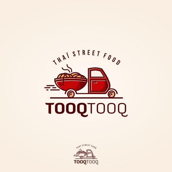 new logo for our tha239 food truck logology pinterest