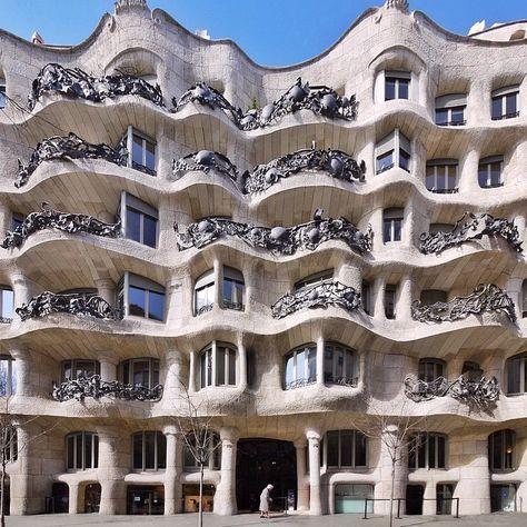 Casa Milà (La Pedrera) | Antoni Gaudí | 1905-1910 | Barcelona