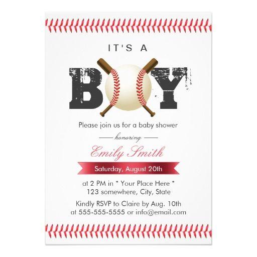 itu0027s a boy baseball stitching sports baby shower card