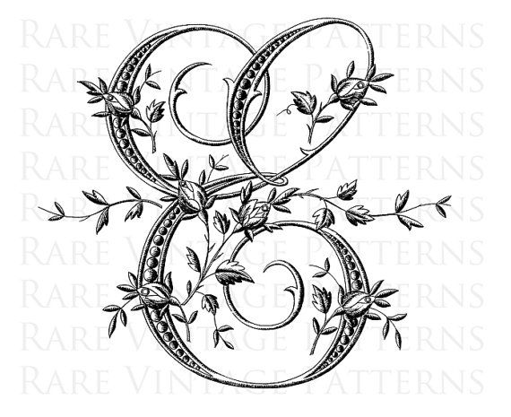 Fancy Antique FRENCH FLORAL ALPHABET STENCIL Large Letter - E - We also have the rest of this Fancy Alphabet available in our Store Vintage Hand Embroidery Pattern ***========================*** Are you looking for something Special for your project just convo me and I will see what I can do for you. ***========================*** This vintage image has been scanned directly from my collection. Every image I sell has been digitally cleaned, altered and adjusted by me. 2 x Printable d...