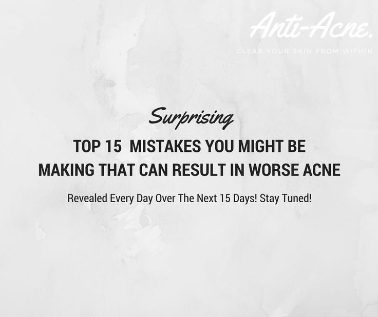 That's all of them! Over the past 15 days we revealed the top 15 surprising mistakes you might be making your acne getting worse. If you're making these mistakes, be sure to try and correct them… you never know this may significantly help reduce your acne. Comment below to let us know your thoughts… was it helpful? Did you guess any right? Were you doing anything wrong? And if you missed out… don't worry you can view and download from the link... http://ow.ly/AoxD30bMZVT