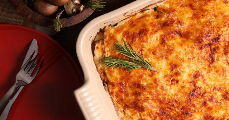 There's a lot of goodness in this casserole made with sausages, potatoes and lots of cheese!