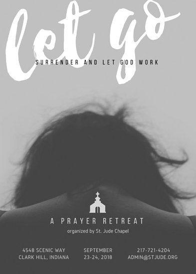Prayer Retreat Church Flyer