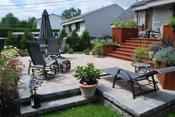 17 meilleures id es propos de patio pav sur pinterest pont en pierre et - Relooking exterieur maison ...