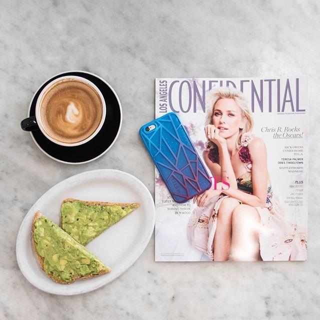 Mornings should always start like this! PS. I'm obsessing over my new @stil_mind case  #stilmind #stilcollaboration #stilcase #brunch #essentials #mornings #blog #blogging #blogger #food #foodie #love #lovely #yummy #amazing #lafashionblogger #iphone #case #joansonthird #eat #favorites #avocado #sp #sponsored #ad #advertisment