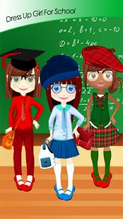 Download new Dress Up Girl For School game free here https://play.google.com/store/apps/details?id=com.sparrowstudiogames.dressupgirlforschool and you will see how to dress up girls for school properly. We ask you to be part of our dress up story, and pla