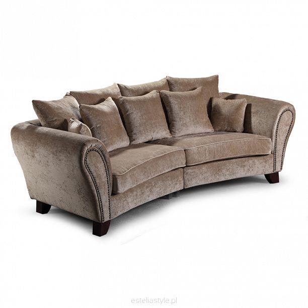 Sofa, kanapa Estelia Kennedy 3os., tkanina