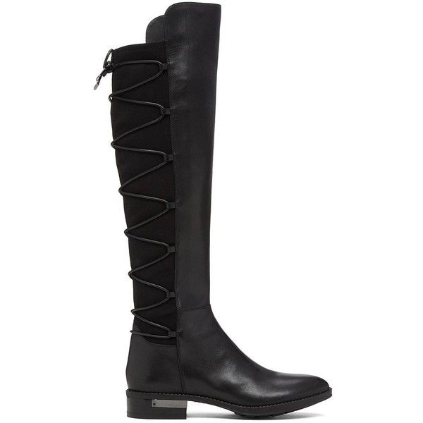 Vince Camuto Parle Over The Knee Stretch Boots (2 310 ZAR) ❤ liked on Polyvore featuring shoes, boots, over the knee boots, above the knee boots, stretch boots, above knee boots and vince camuto