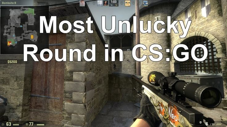 Unbelievably Unlucky Round in CS:GO!! - Stupidly Funny