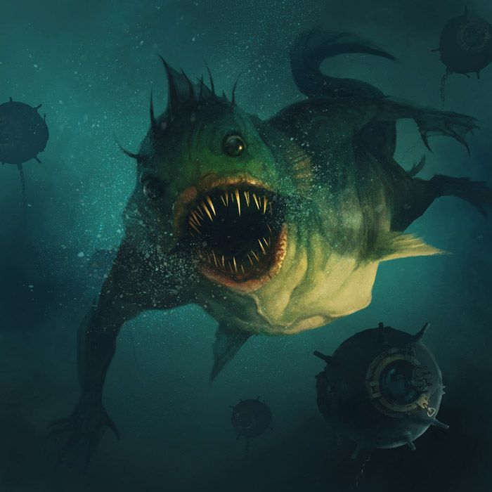creatures of the deep game free