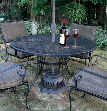 Outdoor Leisure Electric Umbrella Stand Patio Heater 99