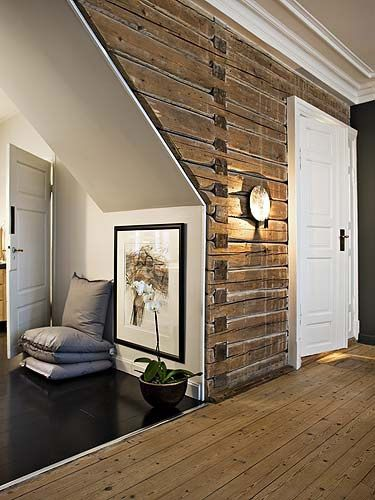 pallet wall - I cant see that in my house - BUT for sure i could see this in the…