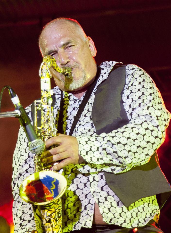 Joe Camilleri at Caloundra Music Festival 2014 - Bruce Haggie Photography