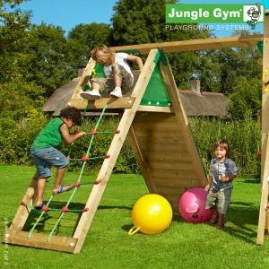 Jungle Gym Climb Module - Wooden Climbing Frames for Children : Wooden Climbing Frames for children