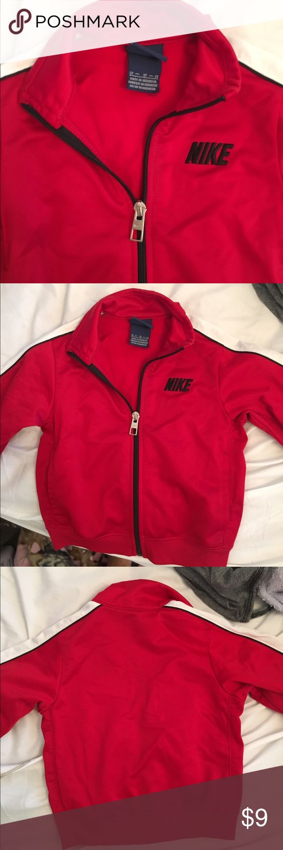 red Nike jacket  In good condition Nike Jackets & Coats