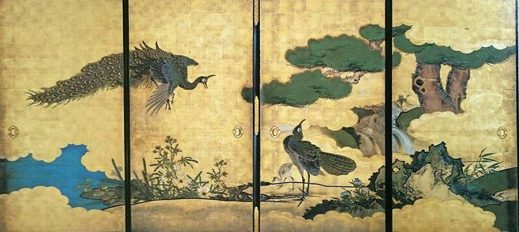 孔雀図4 江戸時代 聖護院