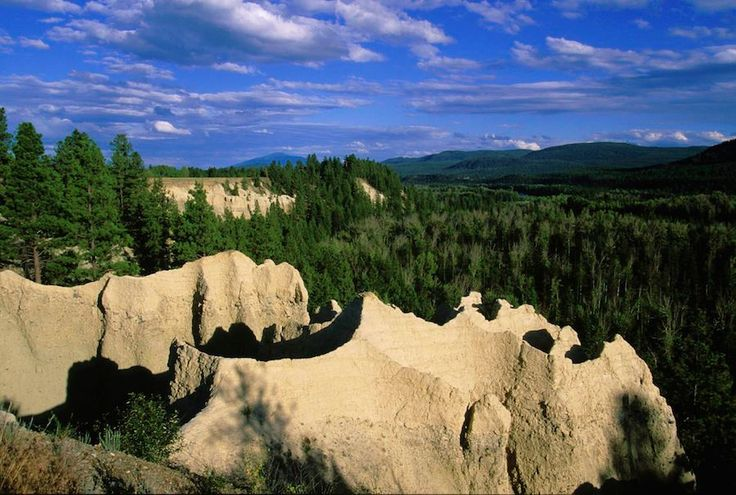 Hoodoos... also known as tent rock, fairy chimney, and earth pyramid -- and they are found all around the Kootenays, BC #Kimberley