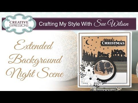 Hi bloggers!  Today's video shows you one way to extend the Starry Night Background (I showed another way on my recent shows on Hoc...