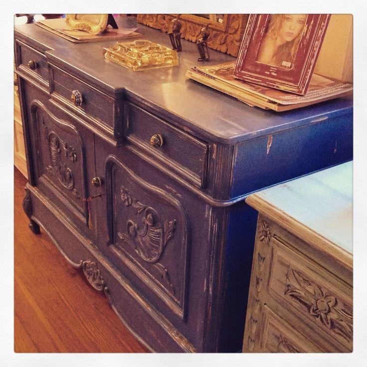 Mueble azul provenzal