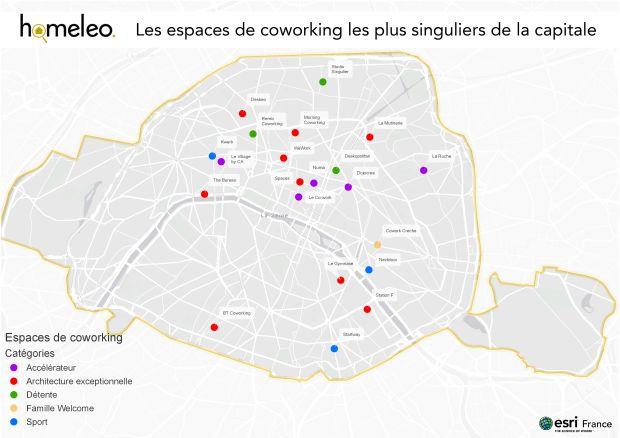 Homeleo, le site qui cherche des bureaux pour les startups, dresse un panorama des lieux de coworking insolites de la capitale.