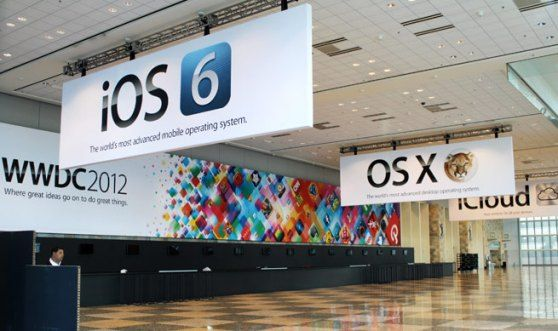 iOS 6 Banner at WWDC