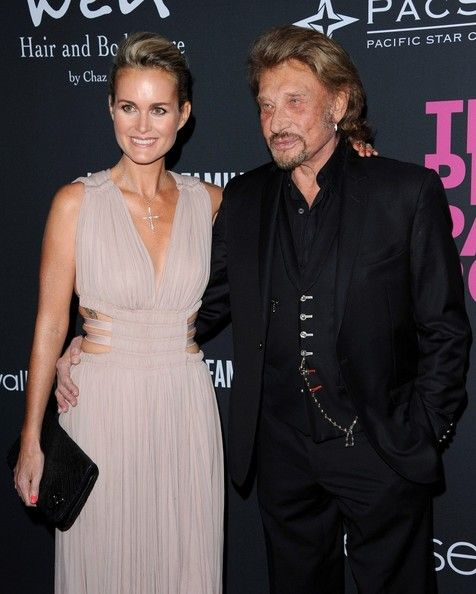 Laeticia Hallyday Photos - Pink Party 2013..Hangar 8, Santa Monica Airport, Santa Monica, CA..October 19, 2013..Job: 131019A1..(Photo by Axelle Woussen/Bauer-Griffin)..Pictured: Johnny Hallyday and Laeticia Hallyday.. - Laeticia Hallyday Photos - 394 of 2165