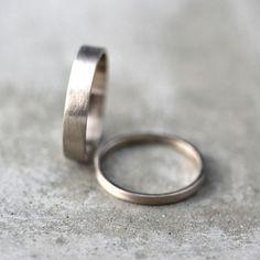 Weissgold Eheringe festgelegt sein und Ihr 4mm und von TheSlyFox