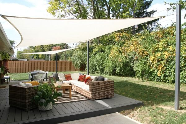DIY Sail Shades - SAVE THIS ONE