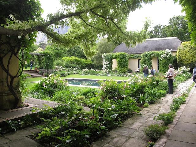 La Rive Garden at Franschoek.