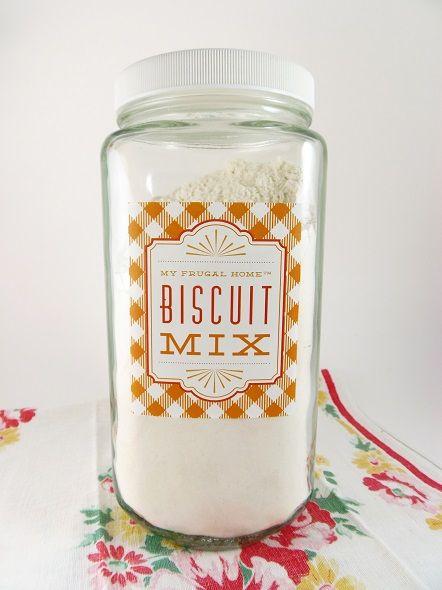 Homemade Biscuit Mix Recipe